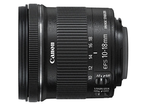 Canon EF-S 10-18mm f/4.5-5.6 IS STM - Lord Photo