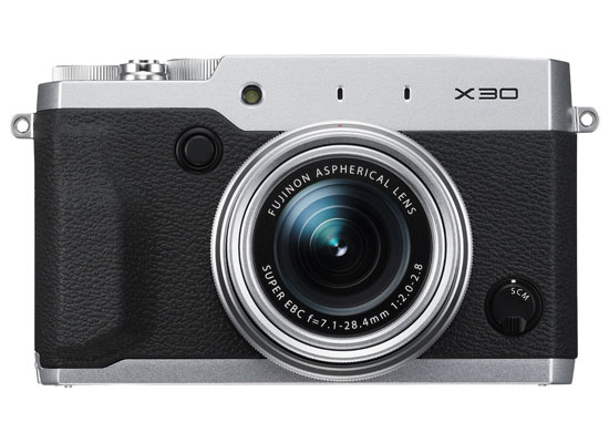 Fuji Finepix X30 Argent - Lord Photo