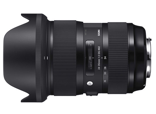 Sigma 24-35mm f/2 DG HSM A - Lord Photo